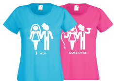 Печать на женских футболках.